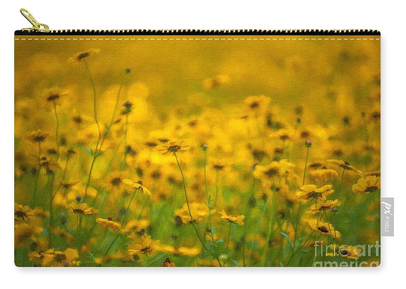 Flower Carry-all Pouch featuring the photograph Dreaming Of Spring by Dale Powell