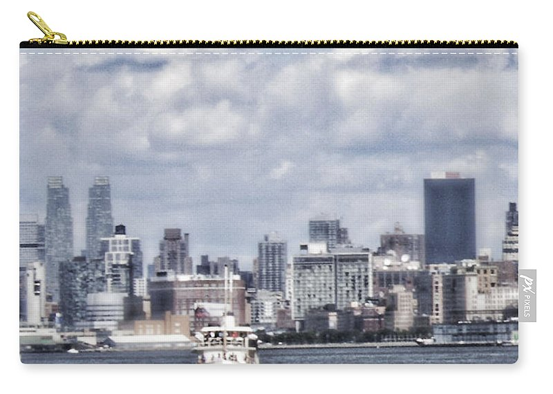 Hudson River Carry-all Pouch featuring the photograph Dreams Are Made Of by Janie Johnson