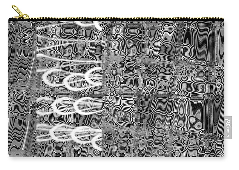 Digital Carry-all Pouch featuring the digital art Dreams Those Did Not Come True by Fei A