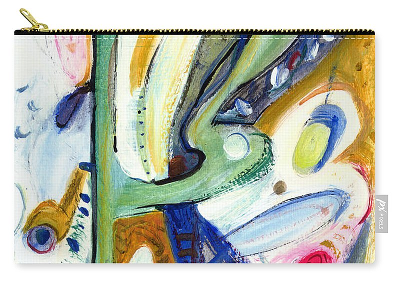 Abstract Art Carry-all Pouch featuring the painting Dreams by Stephen Lucas