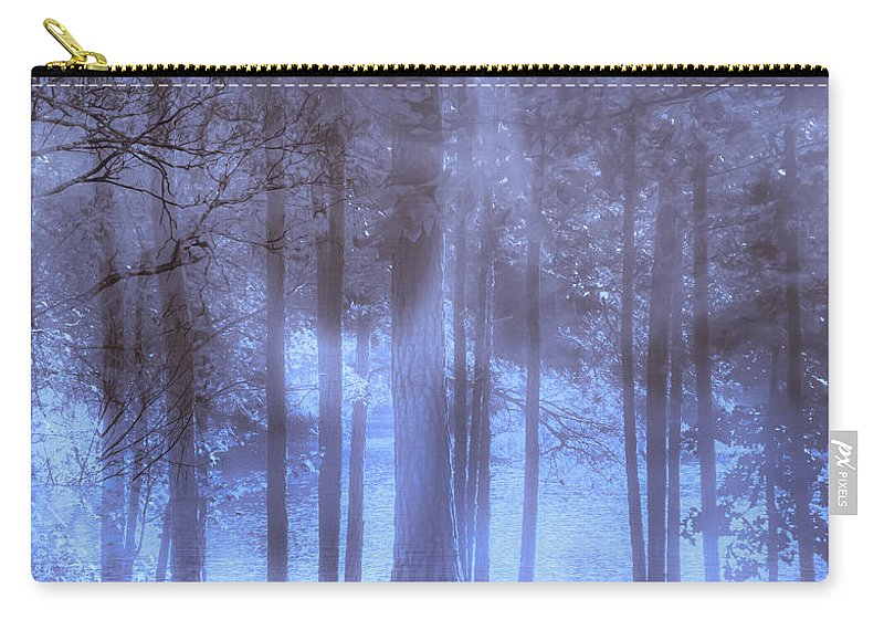 Dream Carry-all Pouch featuring the photograph Dreamy Forest by Scott Hervieux