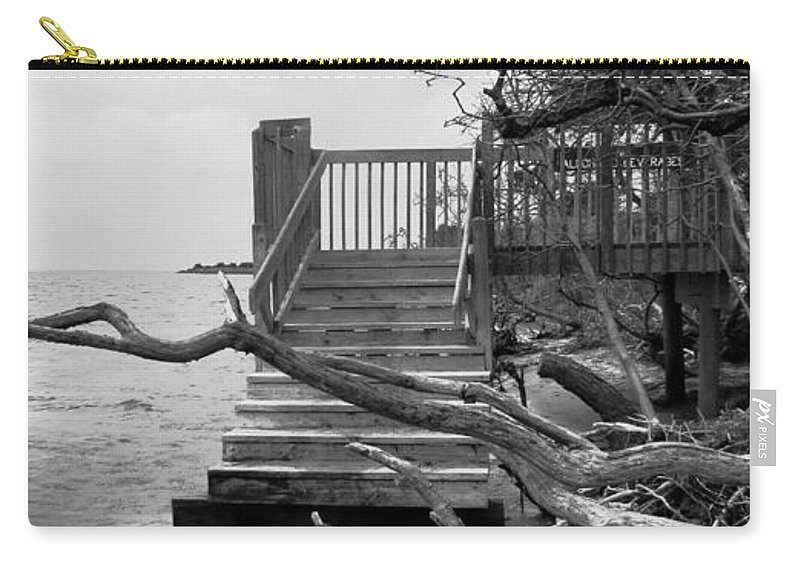 Nature Carry-all Pouch featuring the photograph Drifting by Art Dingo