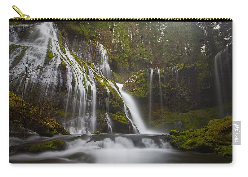Lush Carry-all Pouch featuring the photograph Dripping Wet by Darren White