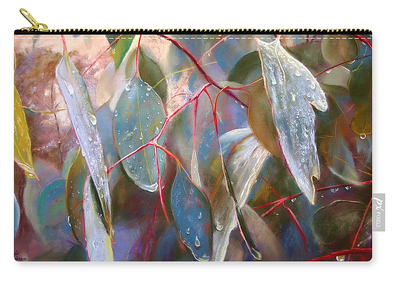 Lynda Robinson Carry-all Pouch featuring the painting Drought Relief by Lynda Robinson