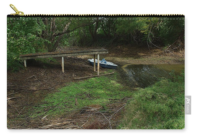Angling Carry-all Pouch featuring the photograph Dry Docked by Peter Piatt