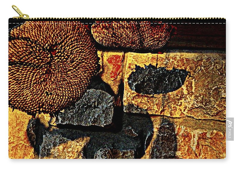 Earthy Carry-all Pouch featuring the photograph Drying Out by Chris Berry