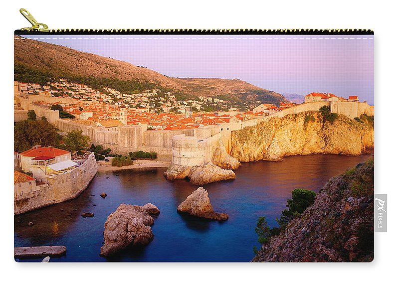 City Carry-all Pouch featuring the photograph Dubrovnik by Alexey Stiop