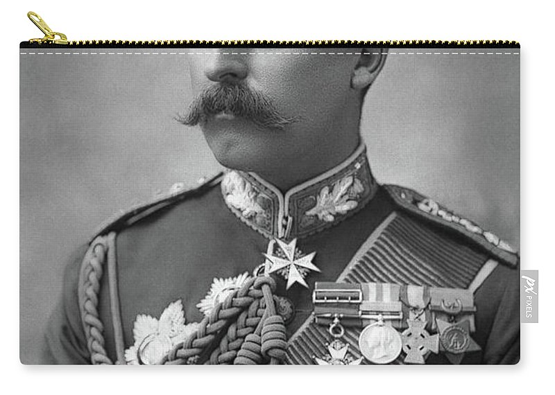 1890 Carry-all Pouch featuring the photograph Duke Of Connaught (1850-1942) by Granger