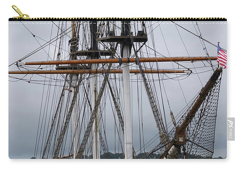 Dunbrody Carry-all Pouch featuring the photograph Dunbrody 2 by Carol Lynch