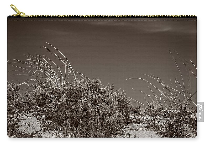 Crane Beach Carry-all Pouch featuring the photograph Dune And Blue Sky by David Stone