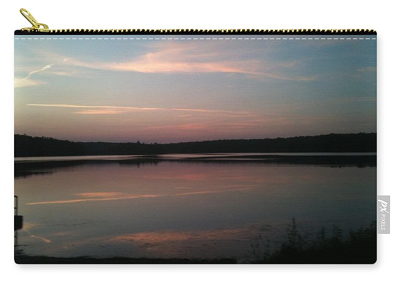 Dusk Carry-all Pouch featuring the photograph Dusk by Sheila Mashaw