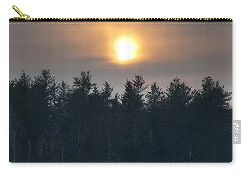 Sunsets Carry-all Pouch featuring the photograph Dusky Sunset by Cheryl Baxter