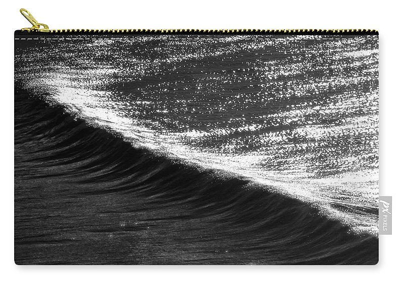 Contrast Carry-all Pouch featuring the photograph Dynamic Curve by Sean Davey
