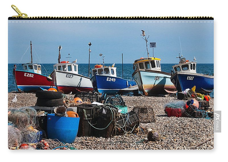 Boats Carry-all Pouch featuring the photograph E Numbers by Susie Peek