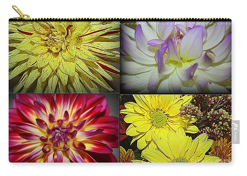 Early Autumn Blossoms Carry-all Pouch featuring the photograph Early Autumn Blossoms by Dora Sofia Caputo Photographic Design and Fine Art
