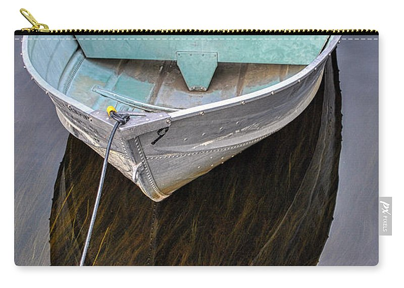 Boat Carry-all Pouch featuring the photograph Early Morning Dock by Pat Lucas
