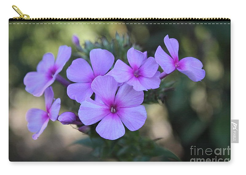 Beautiful Carry-all Pouch featuring the photograph Early Morning Floral Beauty by Jennifer E Doll
