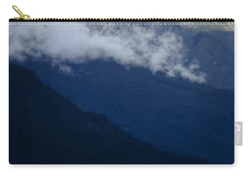 Americas Carry-all Pouch featuring the photograph Early Morning Fog by Roderick Bley