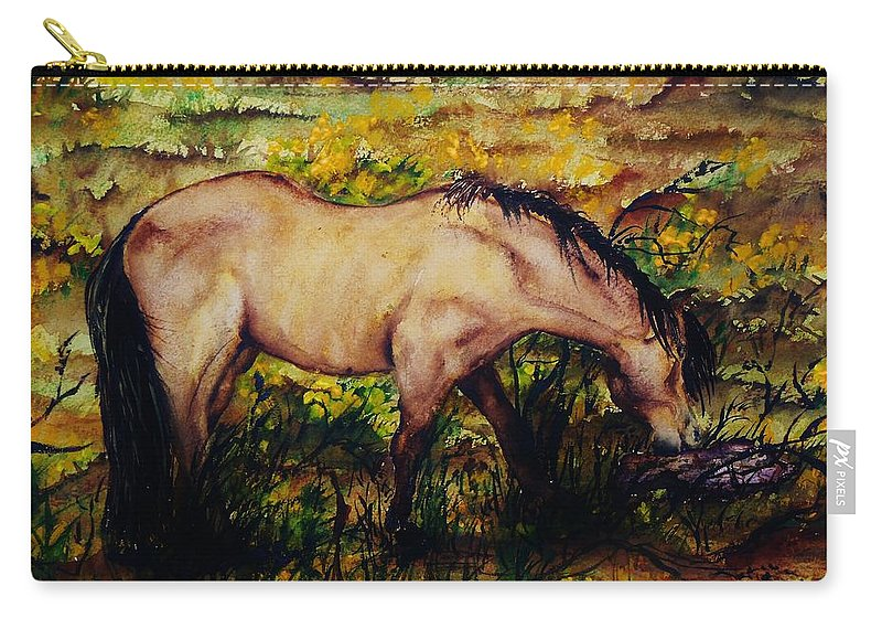 Morning Carry-all Pouch featuring the painting Early Morning Hours by Lil Taylor