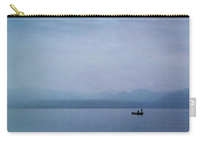 Lake Carry-all Pouch featuring the photograph Early Morning On Lake Leman by Jean-Pierre Ducondi