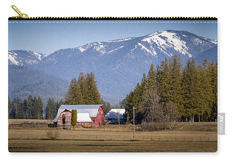 Ranch Carry-all Pouch featuring the photograph Early Spring - 150310a-098 by Albert Seger