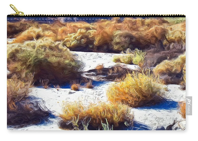 Desert Carry-all Pouch featuring the painting Early Summer by Dominic Piperata