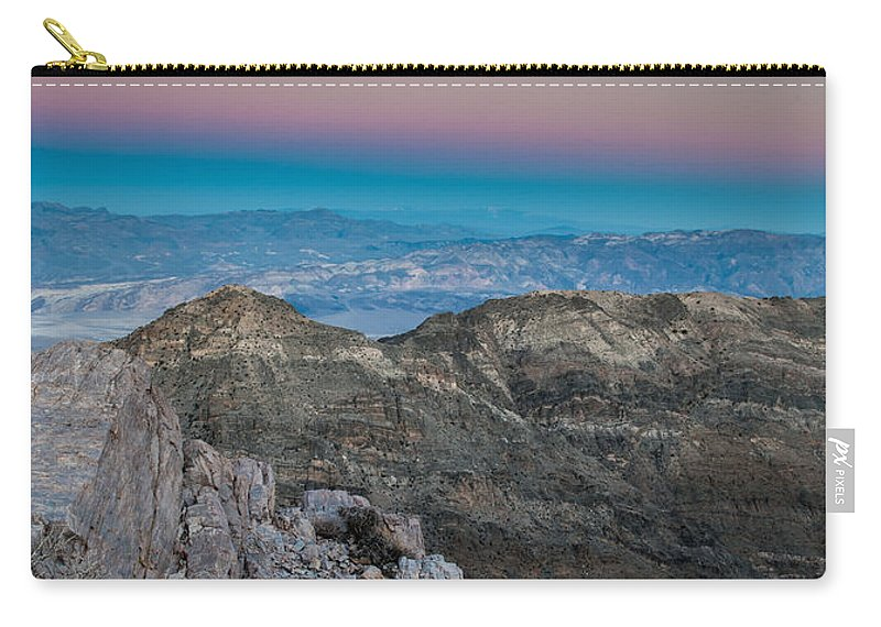 Earth Shadow Carry-all Pouch featuring the photograph Earth Shadow by George Buxbaum
