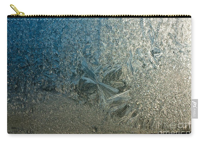 Frost Carry-all Pouch featuring the photograph Easter Morning by Steven Dunn