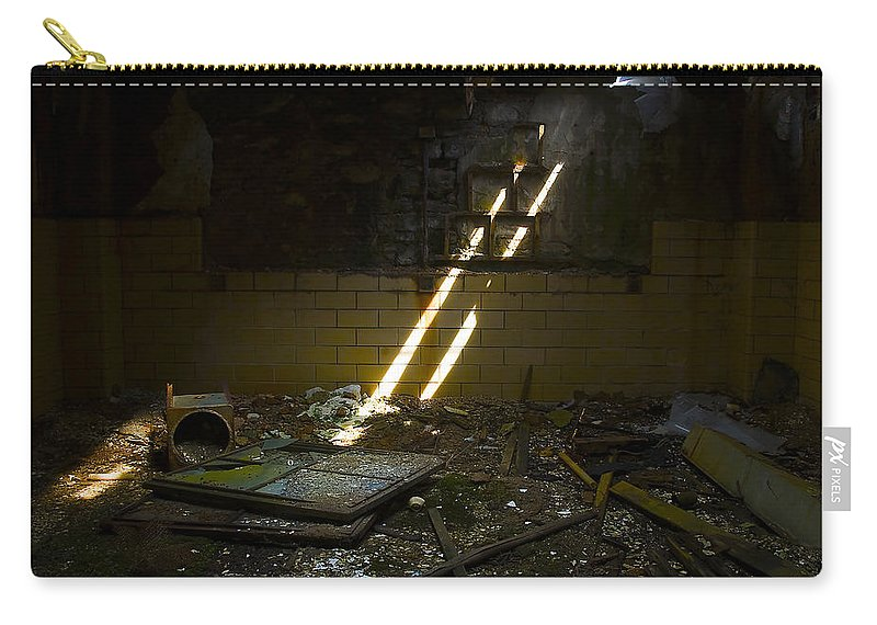 Prison Carry-all Pouch featuring the photograph Eastern State Penitentiary by Svetlana Sewell