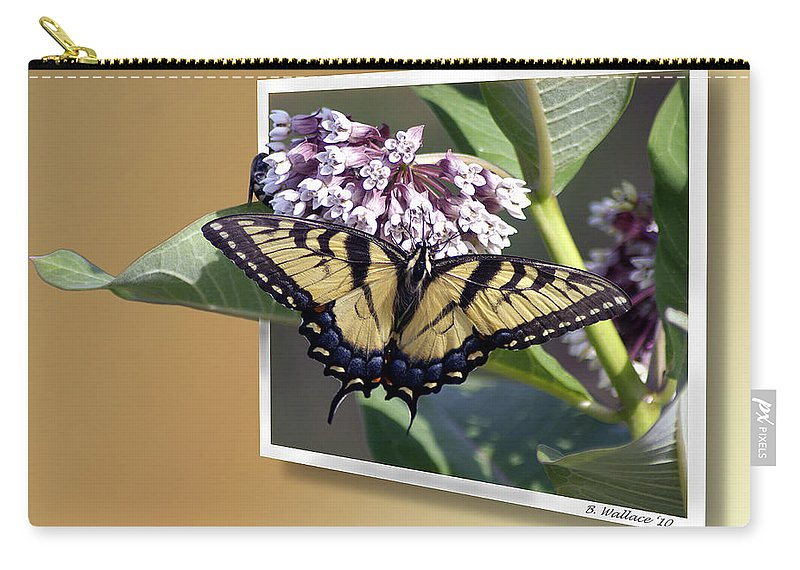 2d Carry-all Pouch featuring the photograph Eastern Tiger Swallow Tail by Brian Wallace