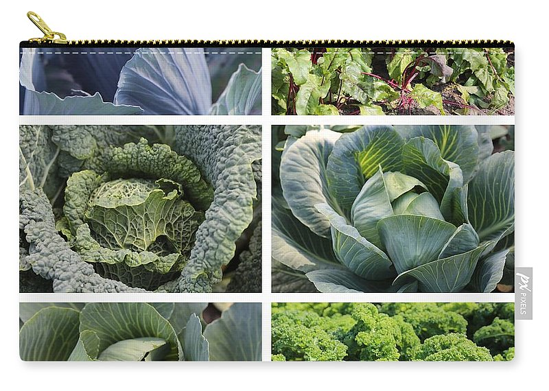 Food Carry-all Pouch featuring the photograph Eat Your Greens by Carol Groenen