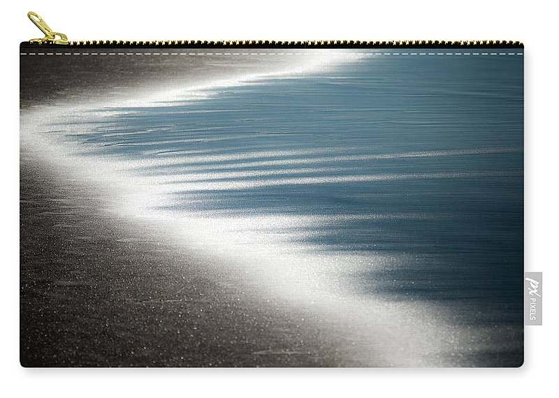Beach Carry-all Pouch featuring the photograph Ebb And Flow by Dave Bowman