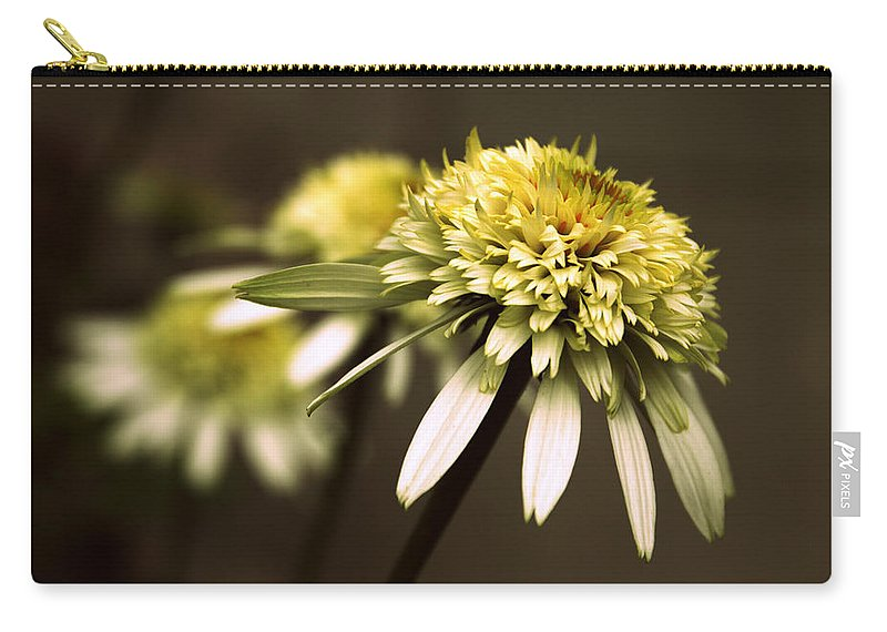 Flowers Carry-all Pouch featuring the photograph Echo by Jessica Jenney