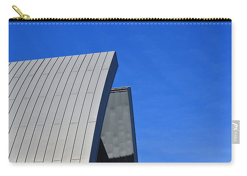 Photo Carry-all Pouch featuring the photograph Edge Of Heaven - Architectural Photography By Sharon Cummings by Sharon Cummings