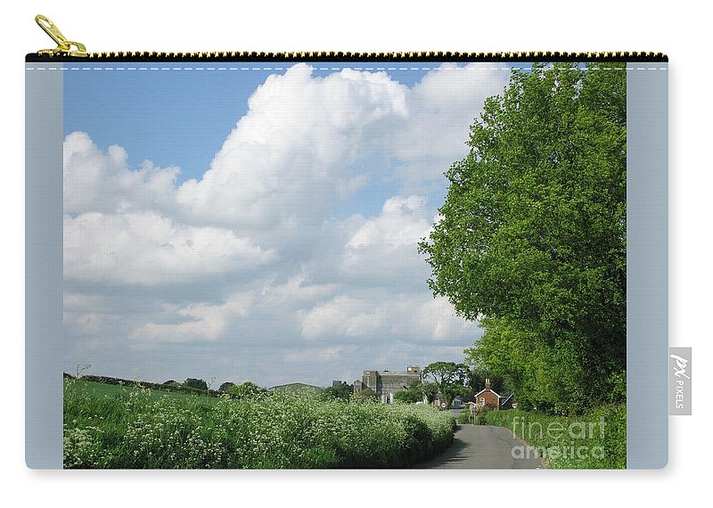 England Carry-all Pouch featuring the photograph Edge Of Town by Ann Horn