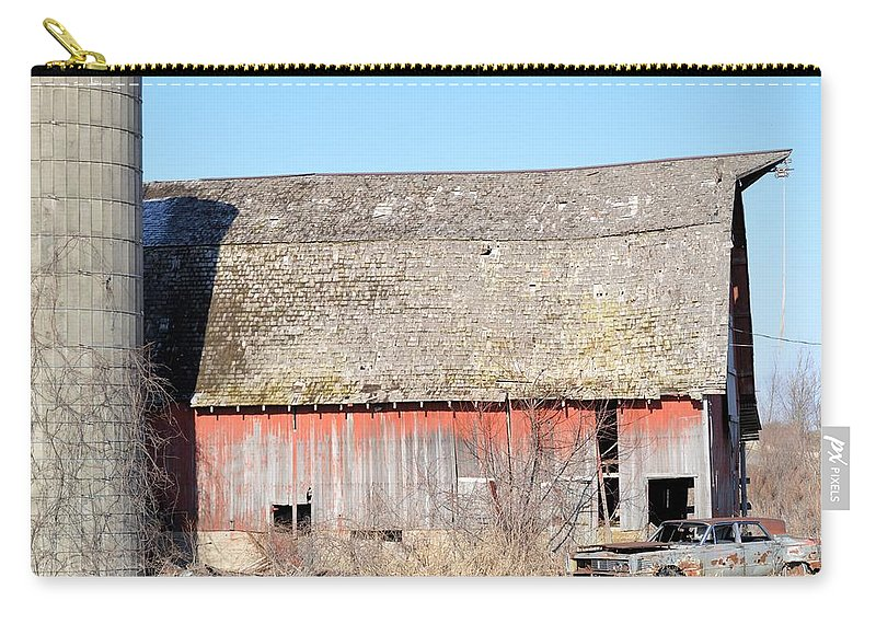 Barn Carry-all Pouch featuring the photograph Eduring Time by Bonfire Photography