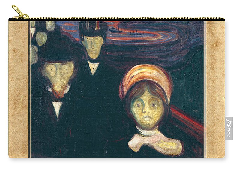 Munch Carry-all Pouch featuring the photograph Edvard Munch 2 by Andrew Fare