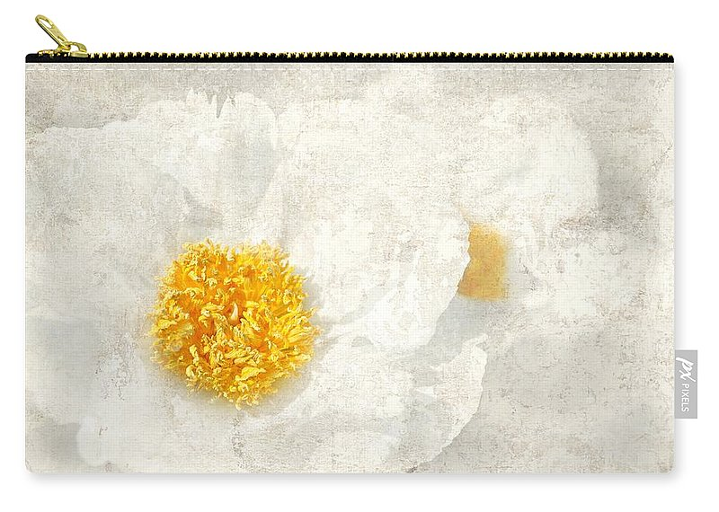 Flowers Carry-all Pouch featuring the photograph Egg Whites by Diana Angstadt