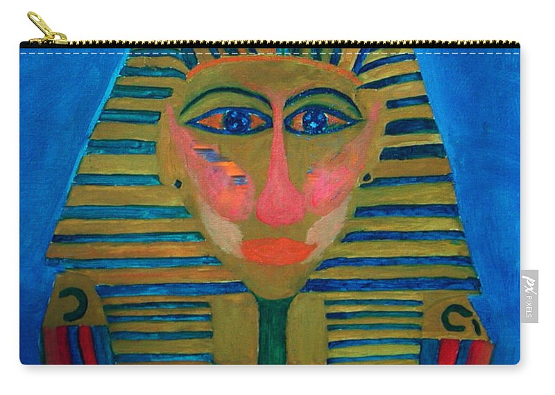 Colette Carry-all Pouch featuring the painting Egypt Ancient by Colette V Hera Guggenheim