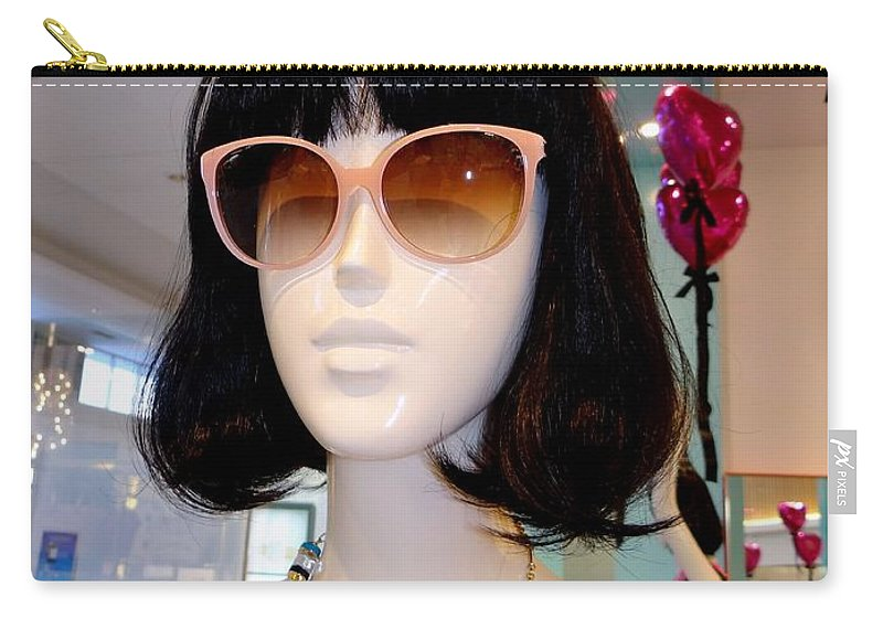 Mannequins Carry-all Pouch featuring the photograph Eifel Eyeful by Ed Weidman