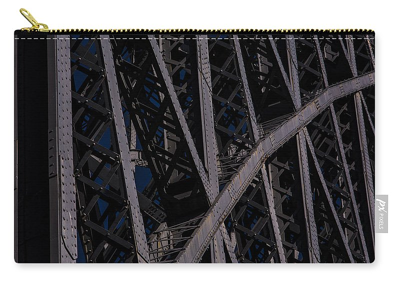 Eiffel Carry-all Pouch featuring the photograph Eiffel by Edgar Laureano