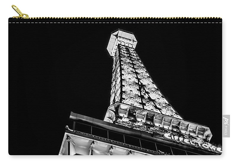 Eiffel Tower Carry-all Pouch featuring the photograph Industrial Romance by Az Jackson