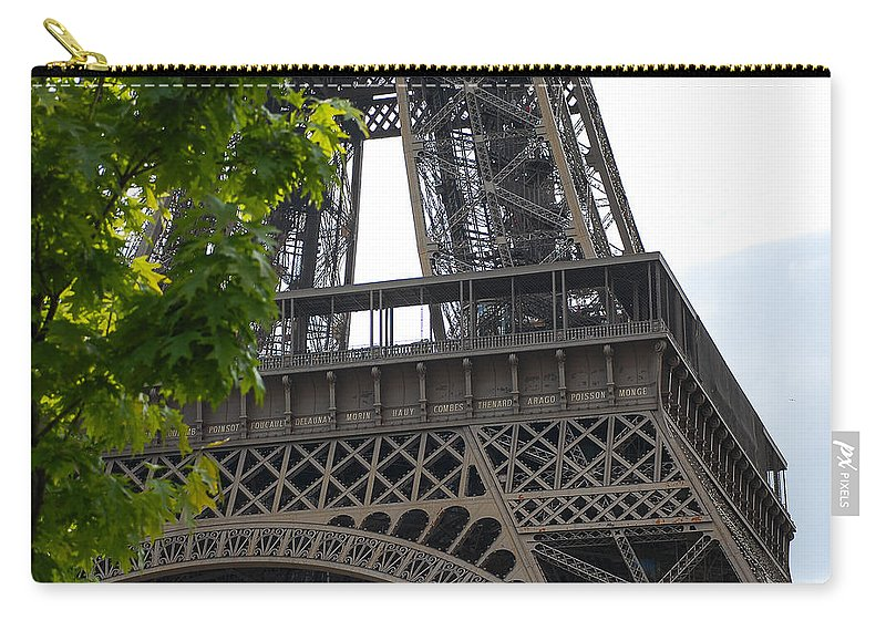 Eiffel Tower Carry-all Pouch featuring the photograph Eiffel Tower by Dany Lison