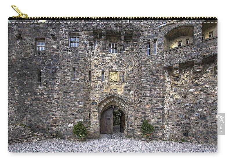 Eilean Donan Castle Carry-all Pouch featuring the photograph Eilean Donan Castle - 2 by Paul Cannon