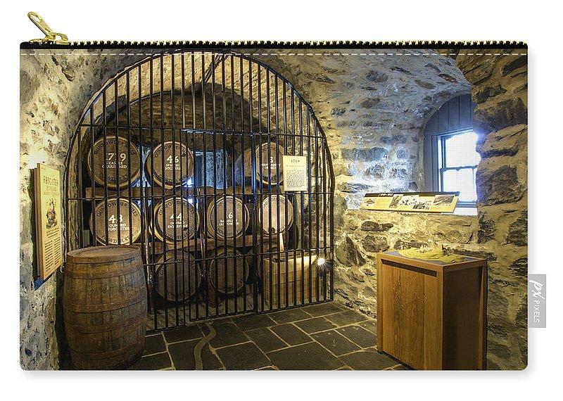 Eilean Donan Castle Carry-all Pouch featuring the photograph Eilean Donan Castle - 4 by Paul Cannon