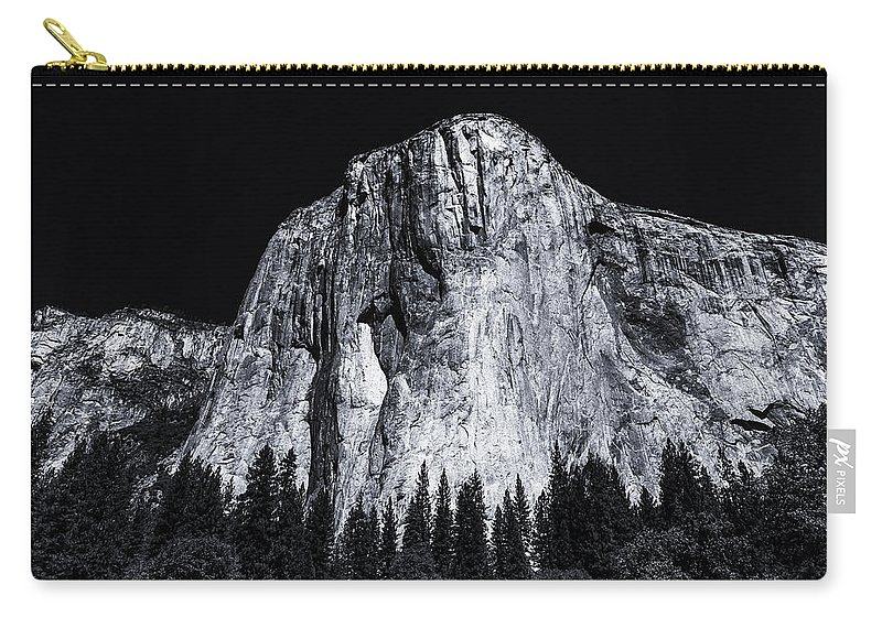 Yosemite Carry-all Pouch featuring the photograph El Capitan by William Towner