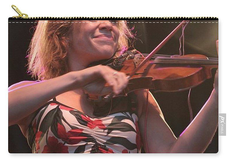 Photos For Salee Carry-all Pouch featuring the photograph Elana James And The Continental Two by Concert Photos