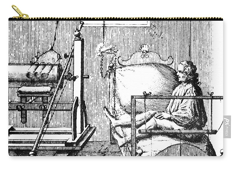18th Century Carry-all Pouch featuring the photograph Electric Cure by Granger