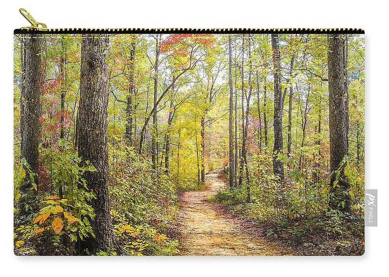 Appalachia Carry-all Pouch featuring the photograph Elfin Forest by Debra and Dave Vanderlaan