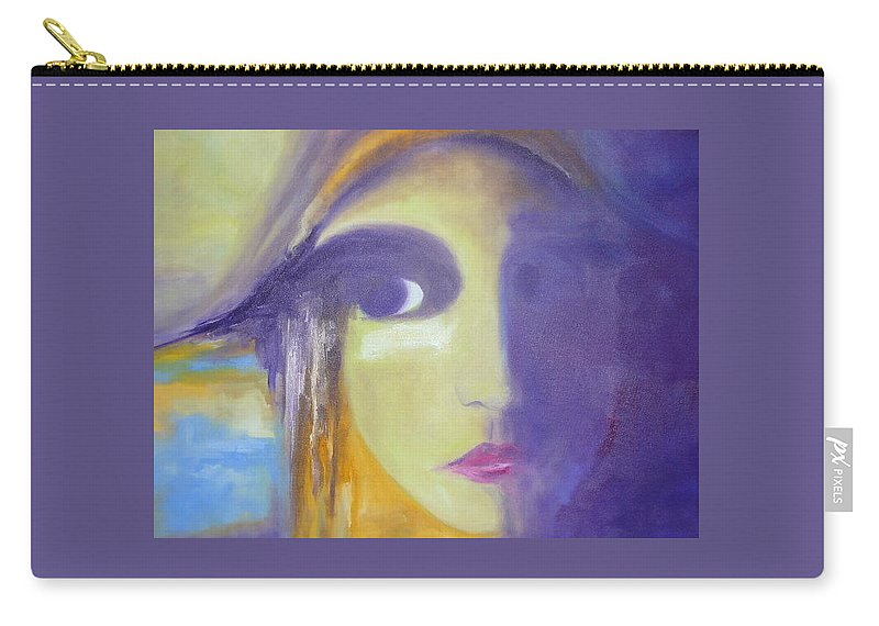 Woman Carry-all Pouch featuring the painting Elizabeth by Lord Frederick Lyle Morris - Disabled Veteran